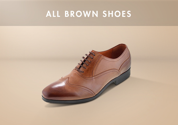 All Brown Shoes!