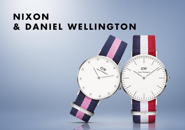 Nixon & Daniel Wellington!