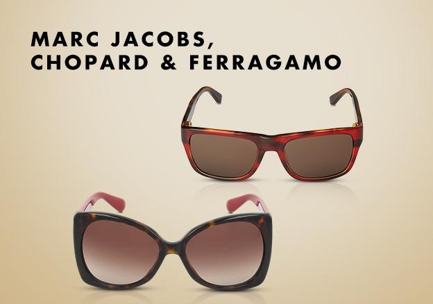 Marc Jacobs, Chopard & Ferragamo