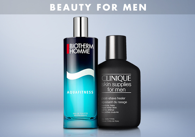 Beauty for Men & Mondial!