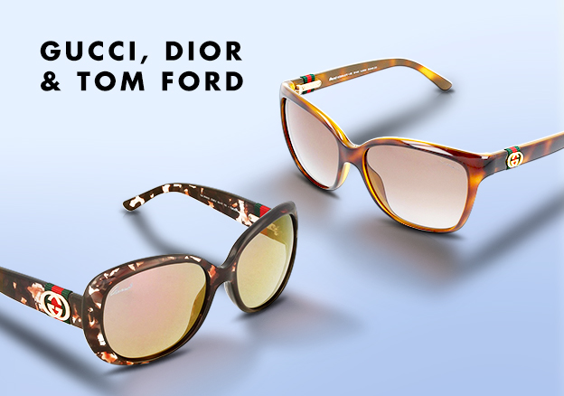Gucci, Dior & Tom Ford