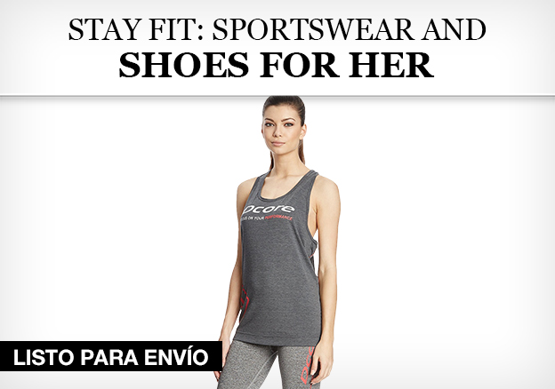 Stay fit: Sportswear and Shoes for her!
