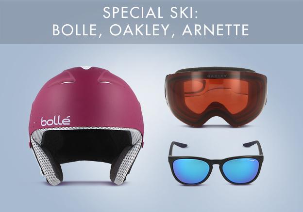 Special Ski: Bolle, Oakley, Arnette!