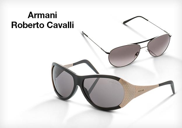 Armani & Roberto Cavalli