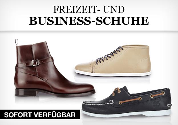 Freizeit- und Business-Schuhe