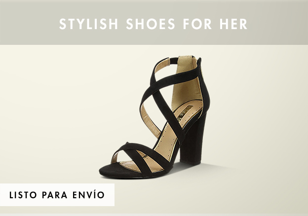 Stylish shoes for her!