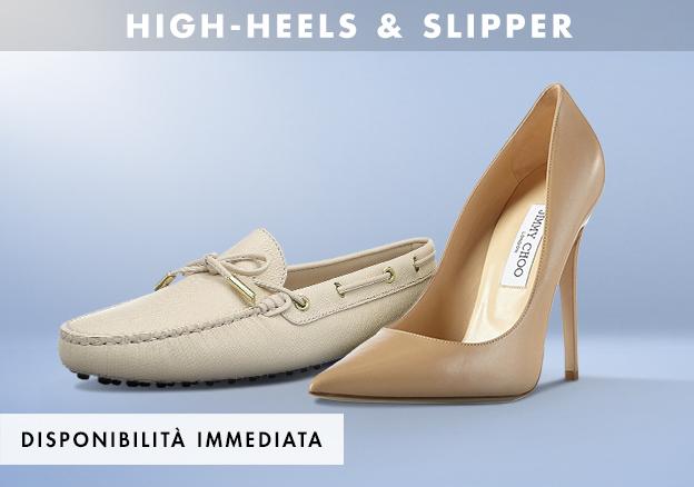 High-Heels & Slipper!