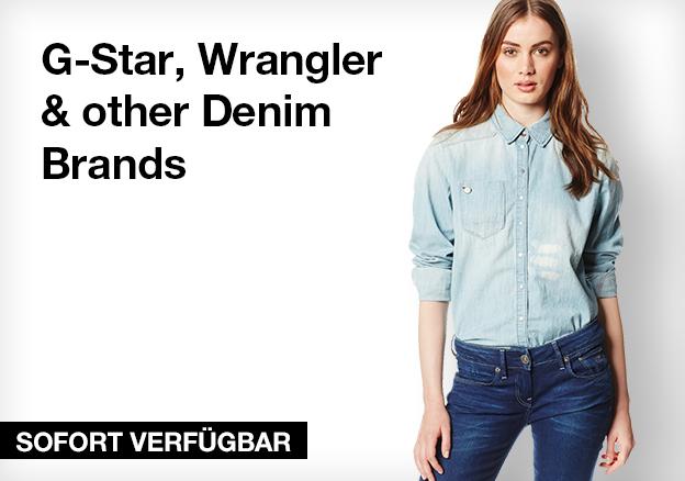 G-Star, Wrangler & other Denim Brands