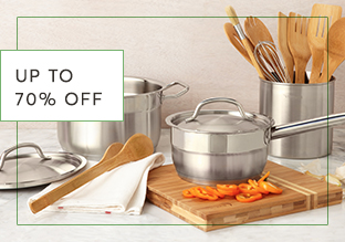 Fino al 70 % di sconto : Kitchen Essentials!