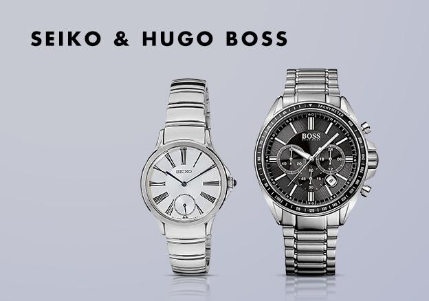 Seiko, Hugo Boss & more