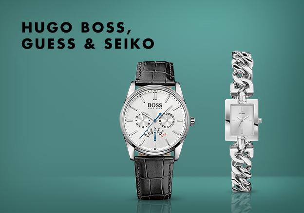 Hugo Boss, Guess & more