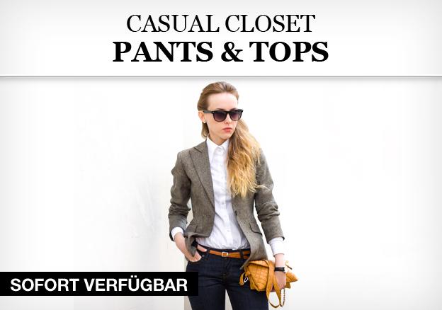 Casual Closet: Pants & Tops