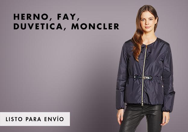Herno, Fay, Duvetica, Moncler!