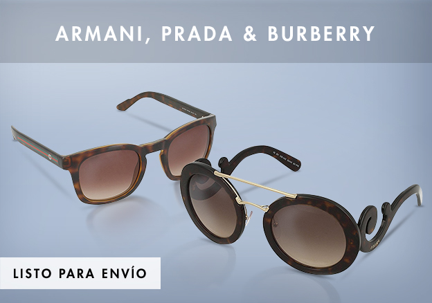 Armani, Prada & Burberry