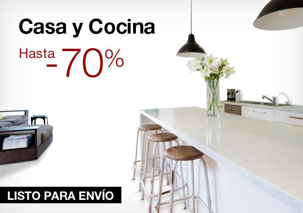 Casa y cocina: hasta -70%