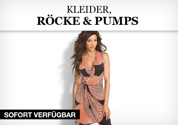 Kleider, Röcke & Pumps