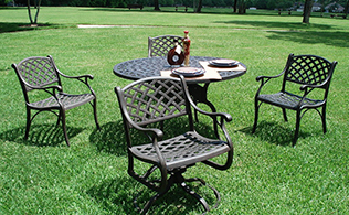 cast aluminum gartenm bel mode trends beauty kosmetik reinmode. Black Bedroom Furniture Sets. Home Design Ideas