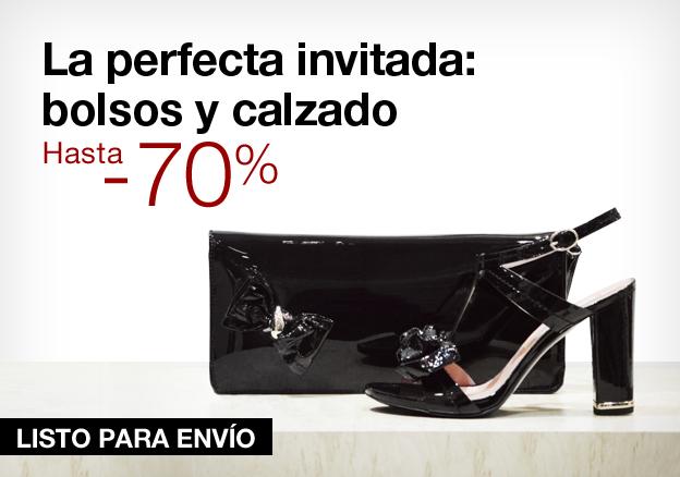 La perfecta invitada: bolsos y calzado hasta –70%