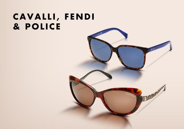 Cavalli, Fendi & Police