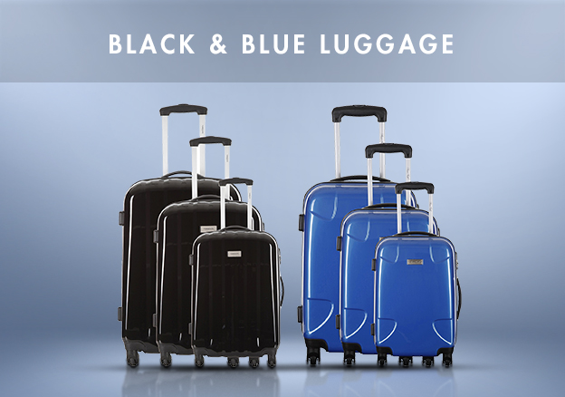 Black & Blue Luggage