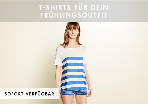T-Shirts für Dein Frühlingsoutfit!