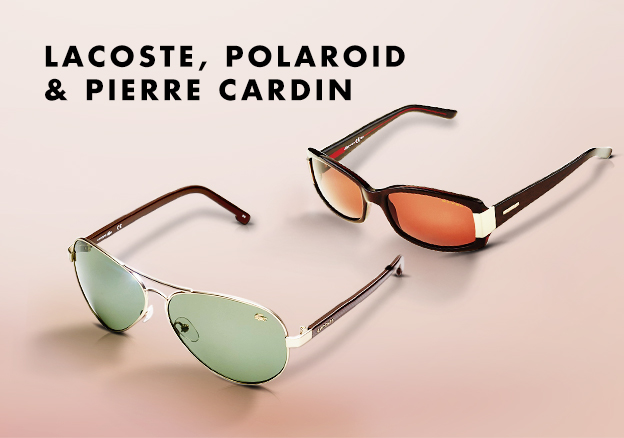 Lacoste, Polaroid & Pierre Cardin