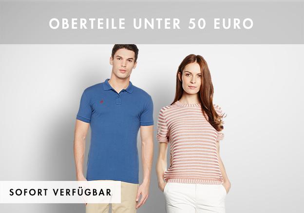 Oberteile unter 50 Euro