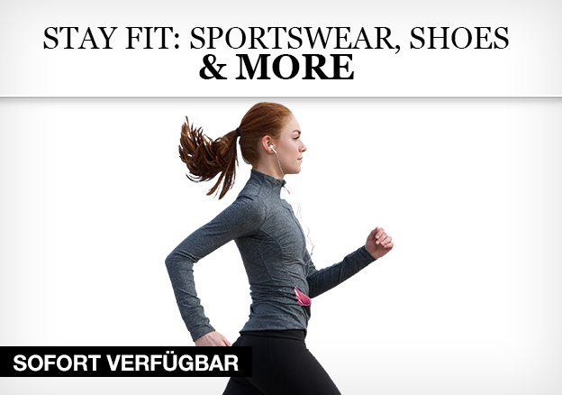 Stay fit: Sportswear, shoes & more