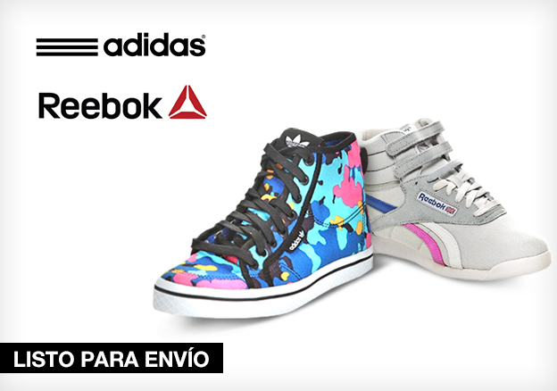 adidas & Reebok!