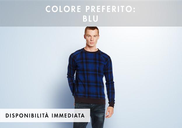 Colore preferito: blu