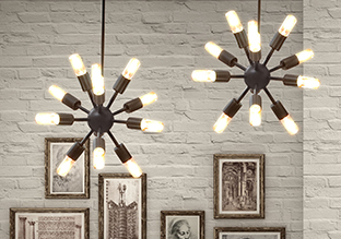 The New Aged: Industrial Lighting!