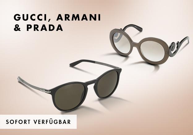 Gucci, Armani & Dior!