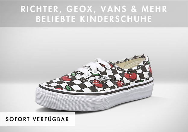Richter, Geox, Vans & mehr - Beliebte Kinderschuhe bis zu -70%!