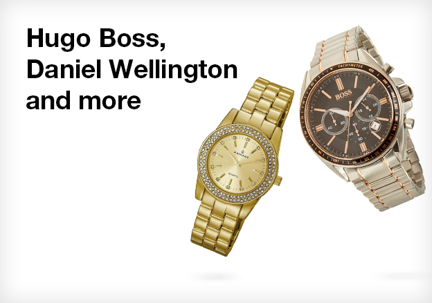 Hugo Boss, Daniel Wellington and more!