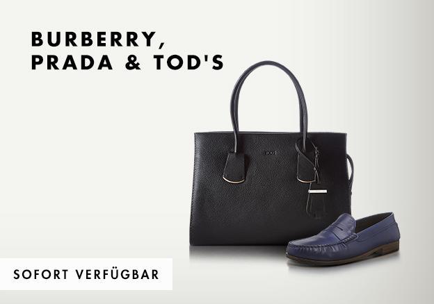 Burberry, Prada & Tod