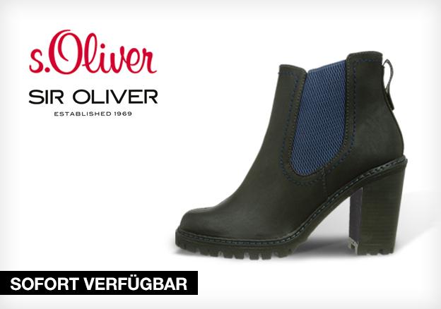 s.Oliver & SIR Oliver