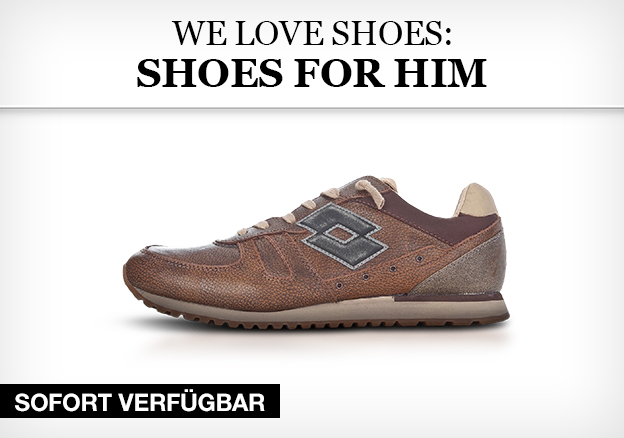 We love shoes: shoes for him
