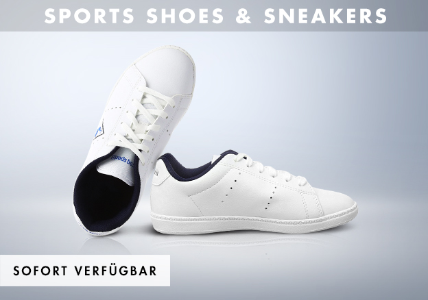 Sports shoes and sneakers for him