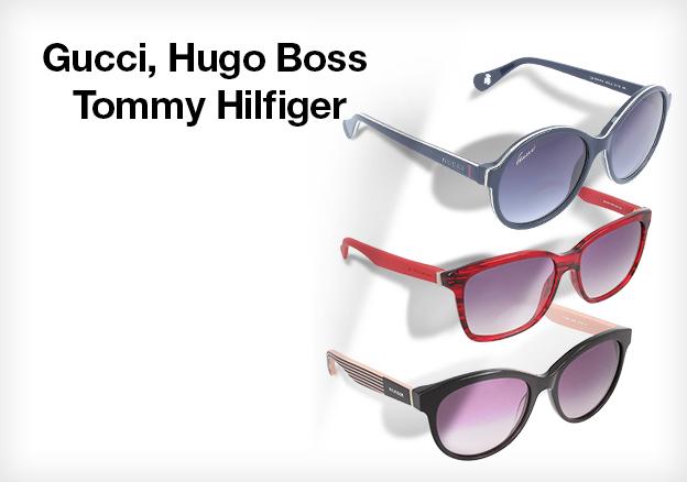 Gucci, Hugo Boss, Tommy Hilfiger