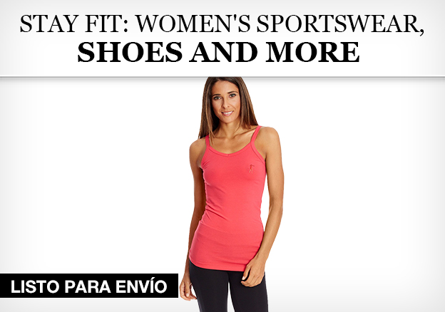 Stay fit: women's sportswear, shoes and more