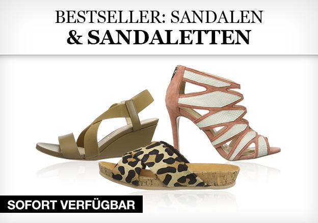 Bestseller: Sandalen & Sandaletten