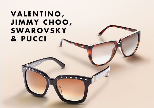 Valentino, Jimmy Choo, Swarovsky & Pucci