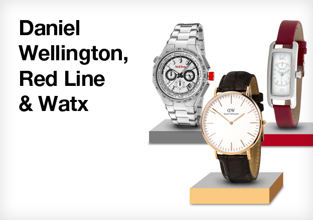Daniel Wellington, Red Line & Watx