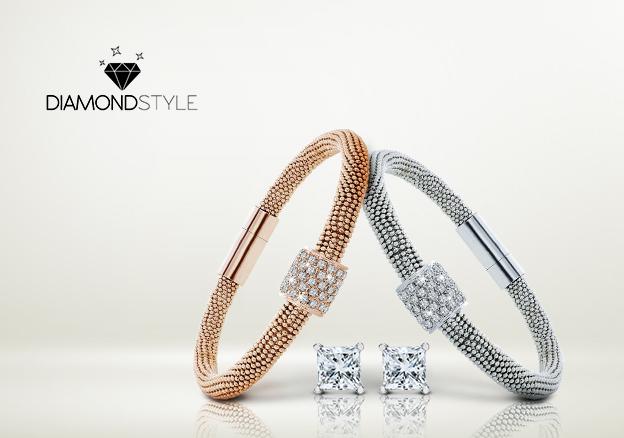 Silver, Gold & Diamonds
