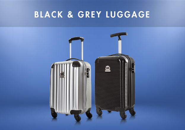 Black & Grey luggage