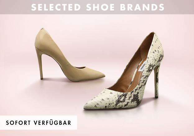 Selected shoe brands