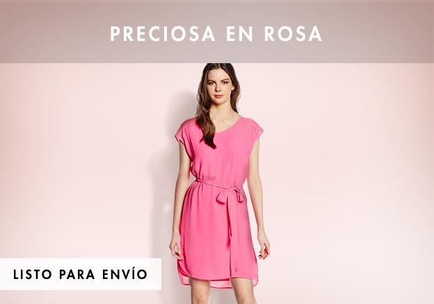 Preciosa en rosa!