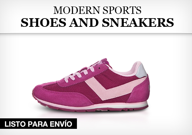 Modern Sports Shoes and Sneakers for her