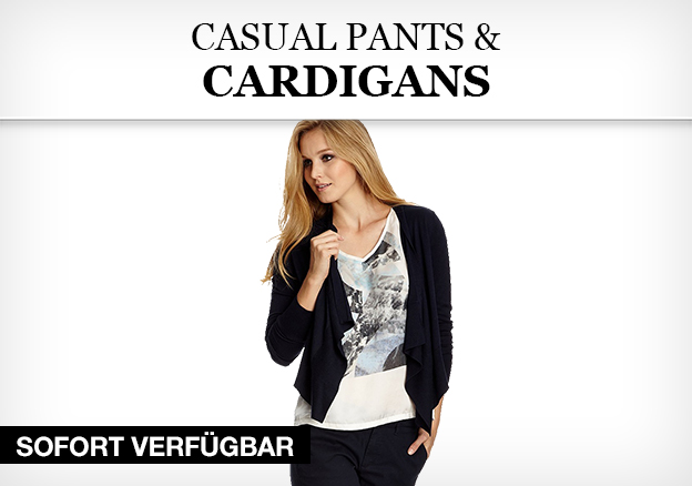 Casual Pants & Cardigans