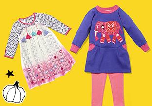 Tot 75 % Korting : Girls ' outfits voor de herfst !